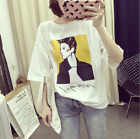 Korean version of shirt  women short - sleeved T-shirt women's clothing top