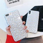 Bling Glitter Reflective Laser Slim Shockproof Phone Case Covers For iPhone