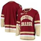 Boston College Eagles Under Armour Replica College Hockey Jersey Maroon