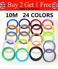 10M 1.75mm PLA Filament Consumables For 3D Printer Printing Various Colour UK