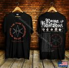 Bring Me The Horizon First love Tour Concert 2019 Black T-Shirt Size S--2XL image