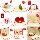 Kyпить 3D Pop Up Card Birthday Wedding Valentine Anniversary Greeting Cards Invitations на еВаy.соm
