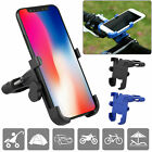 Aluminum Alloy Grip Motorcycle Bicycle MTB Bike Handlebar Mount Cellphone Holder