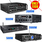2000W Watts 110V Home bluetooth Power Amplifier Stereo AMP Receiver Mixer Echo