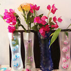 1/2/5/10Pcs Hot Unbreakable Foldable Reusable Plastic Flower Vase Best ATBD TO