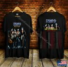 New Kiss End Of The Road Tour Concert 2019 Black T Shirt SIze S-2XL image