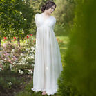Vintage Peasant Boho Ball Gown Dress Maiden Chemise Tier Long Maxi Loose Dress