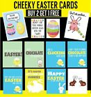 Funny Easter Greetings Cards Chocolate Bunnies Eggs Humour (Buy 2 get 2 free)