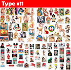 100 Random Skateboard bomb Vinyl Laptop Luggage Dope Decal Supreme Bape Stickers