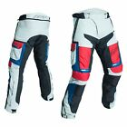 RST Pro Series Adventure III CE Mens Textile Motorcycle Jeans   Ice/Blue/Red