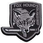Metal Gear Fox Hound Foxhound Special Force iron-on Embroidered Patch Decor DP
