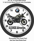 2019 BMW R1250GS ADVENTURE MOTORCYCLE WALL CLOCK-TRIUMPH, APRILIA, HONDA $28.99 USD on eBay