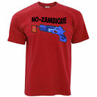 Funny Battle Royale T Shirt Mozambique Shotgun Joke Novelty Online Game