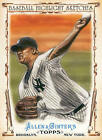 2011 Topps Allen and Ginter Baseball Highlight Sketches Baseball Card Pick