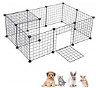 Tall Dog Playpen Crate Wire Yard Fence Pet Play Pen Exercise Portable Cage Dogs