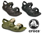 Crocs Swiftwater River Sandals Mens Summer Beach Holiday Open Toe Adjustable