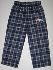 Denver Broncos Team Colored Plaid Flannel Sleep Pants - Child & Youth Sizes on eBay