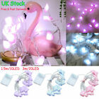 10/20leds Lantern Pink Fairy Love Heart Navidad String Led Lights Diy Home Decor