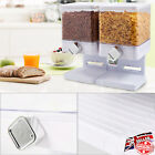 Style Cereal Dispenser Single Double Airtight Clear Container Cereal Dispenser