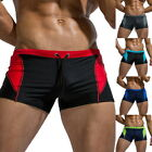 Men's Beach Swimwear Trunks Surf Quick Dry Stretch Shorts Elastic Waist Pants