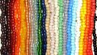 Kyпить 100 Glass Crow Beads 9 x 6 mm  Strung Your choice of colors 1 color per strand на еВаy.соm