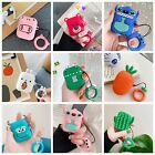 Cute Cartoon Silicone Earphone Case Protective Cover Ring Skin For Apple AirPods $7.99  on eBay