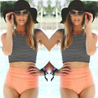 Women Bikini Push Up 2 Piece Set Swimsuit High Waist Beach Bathing Suit Swimwear