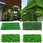 40*60cm Artificial Ivy Leaf Hedge Mat Fence Fake Plant Grass Wall Garden Panels