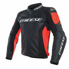 Dainese Racing 3 Leather Motorcycle Bike Riding Road Jacket