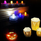 1/3/5/15pcs Submersible Waterproof Super Bright LED Tea Lights Candle Battery BY