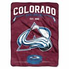 """Avalanche OFFICIAL National Hockey League, """"Inspired"""" 60""""x 80"""" Raschel Throw  by $43.54 USD on eBay"""