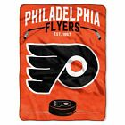 """Flyers OFFICIAL National Hockey League, """"Inspired"""" 60""""x 80"""" Raschel Throw  by Th $43.54 USD on eBay"""