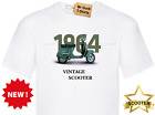 Mens Womens Unisex T shirt VINTAGE SCOOTER MODS ERA RETRO COOL LOOK