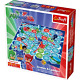 Trefl 1581 P J Masks Snakes and Ladders Toy, Multi-Colour