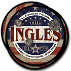 Ingles Family Name Drink Coasters - 4pcs - Wine Beer Coffee & Bar Designs