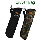 1X Quiver Back Waist Side Bag Nylon Arrow Bow Holder Pouch Target Hunting 2Color