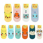 Pokemon Socks Pikachu Womens Ladies Cute Ankle Socks Korean Fashion