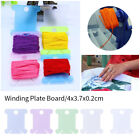100PCS  Winding Plate Board Craft Spool Thread  Plastic Embroidery Tool