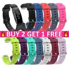 Replacement Silicone Rubber Classic Band Strap Wristband For Fitbit Inspire / HR