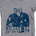 Adam 12 T-shirt vintage style police tv show 1960's 1970's graphic tee NBC502 image