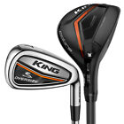 Cobra Golf Men's King Oversized Hybrid Combo Irons (#4-#5h-6-GW), New