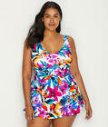 Maxine of Hollywood Plus Size Key West Swim Dress - Women's