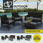 Gardeon Outdoor Furniture Lounge Setting Rattan Chair Table Garden Wicker Patio