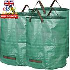 GardenMate Pack of 1 - 2 - 3 - 4 -15 large 272L garden waste bags H76 cm, D67 cm