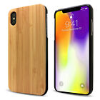Cbus Wireless Bamboo Wood Hard Case Cover for Apple iPhone X/XS, iPhone XS Max