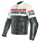 Dainese 8-Track Thermal Full Grain Cowhide Leather Motorbike Riding Jacket