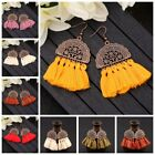 Kyпить Fashion Women Bohemian Earrings Long Tassel Fringe Drop Dangle Ear Stud Jewelry на еВаy.соm