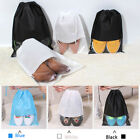 Portable Drawstring Non-Woven Travel Storage Bag Shoes Luggage Bags Dust Proof