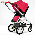 Pouch E89 portable travel baby 2 in 1 High view stroller folding infant Bed