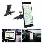 Universal Tablet Car Mount Holder Cradle CD Slot for Cell Phone 7-11 inch Tablet